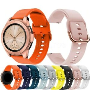 For Samsung Galaxy Watch 42mm Silicone Fitness Wrist Band Strap