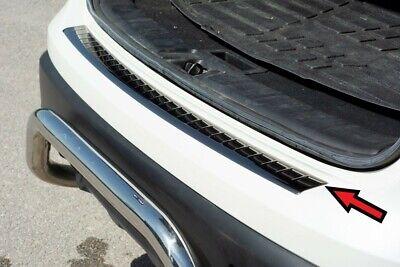 Nissan Qashqai J11 2017UP Chrome Rear Bumper Protector Scratch Guard S.Steel
