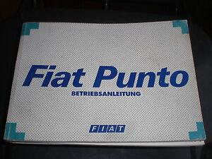 Fiat-Punto-Handbuch