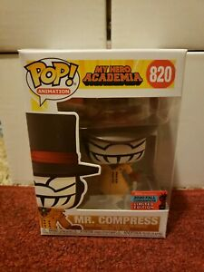 Funko POP My Hero Academia Mr Compress NYCC 2020 Shared Exclusive IN HAND