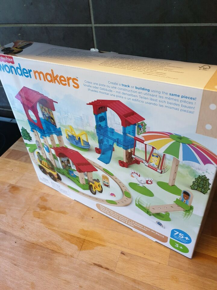 Fisher-Price klassikere, Wonder makers, 3 år