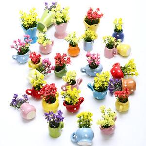 Garden Ornament Miniature Figurine Mini balloon Plant Fairy Dollhouse Decor R