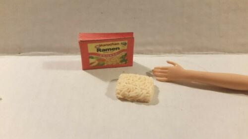 Barbie Doll 1:6 Kitchen Food Miniature Package Ramen Noodles