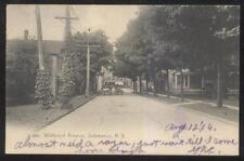 Postcard SALAMANCA New York/NY  Wildwood Avenue Area Family Houses/Homes 1906