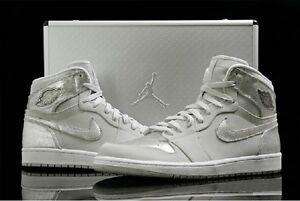 b419e02957ff Nike Air Jordan 1 Retro Dunk HI SILVER 25th Anniversary Suit Case ...