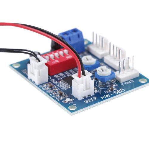 DC 12v pwm pc cpu fan temperature control speed controller module KT