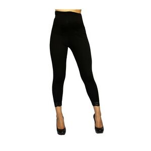 Sexy-amp-Versatile-Black-Rayon-Blend-Maternity-Capri-Leggings-USA-S-M-L-or-XL