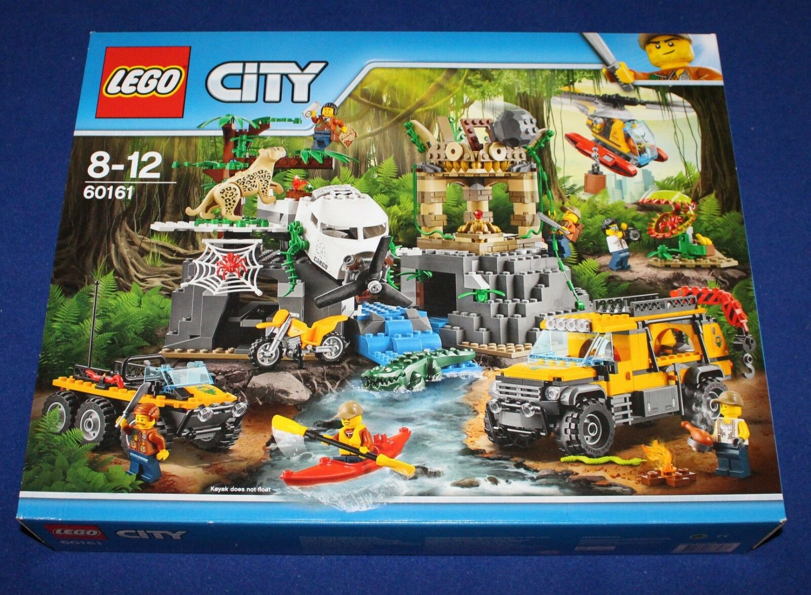 LEGO 60161 City Dschungel-Forschungsstation (Jungle Exploration Site) NEU, OVP