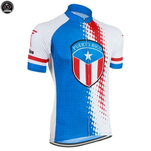 PUERTO RICO Pro Bike Team Cycling Breathable Jersey