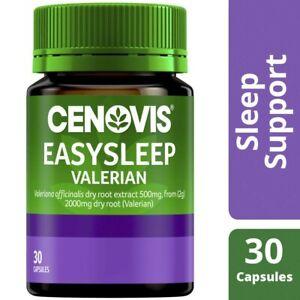 Cenovis Easy Sleep Valerian Capsules 2000mg 30 pack