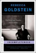 Great Discoveries: Incompleteness : The Proof and Paradox of Kurt Godel 0 by Rebecca Goldstein (2006, Paperback)