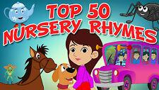 51 KIDS SINGALONG SONGS NURSERY RHYMES CHILDREN'S FAVORITES KIDS on AUDIO CD #2