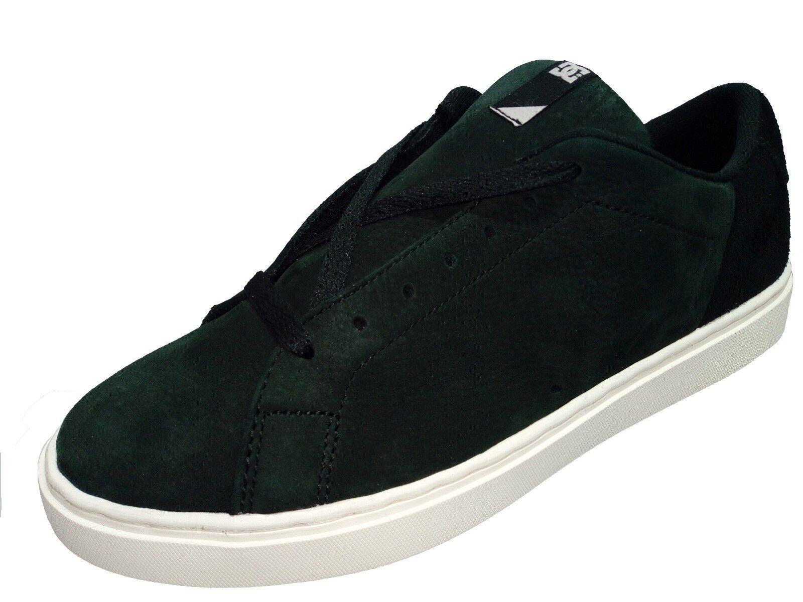 Scarpe DC SHOES Reprieve SE Uomo tg 42 Sneakers Skate in Pelle Camoscio Nero Scarpe classiche da uomo