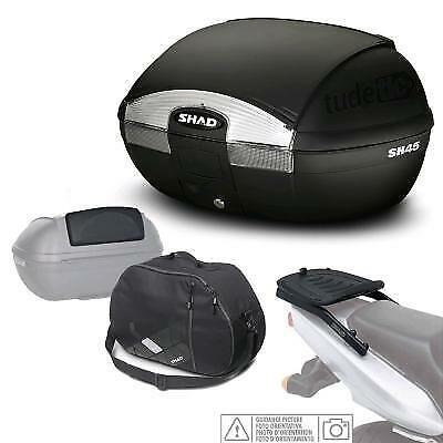Kit fijacion y maleta baul trasero + respaldo + bolsa interna regalo SH45 compa