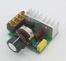 4000w 0 220v Ac Scr Dimmer Electric Voltage Regulator Motor Speed Controller