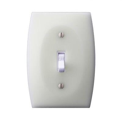 Luminno Glowaswitch St1g 1 Pack Toggle Glow In The Dark Light Switch Plate Ebay