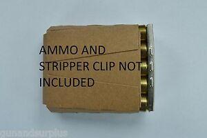 10 Count 6.5x55, 8mm Mauser Cardboard Stripper Clip Inserts m38, 94, 96, K98,