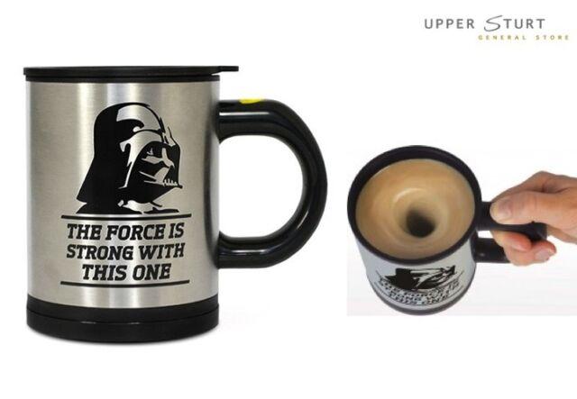 Star Wars Coffee Mug Self Stirring FAST 'N FREE DELIVERY