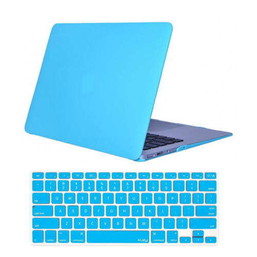 "Crystal Hardcase Shell+Keyboard Cover For Apple Mac Macbook Air 11/"" A1370 A1465"