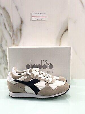 diadora heritage trident NY S.W In Camoscio White Blu Casual Sneaker 44.5 | eBay