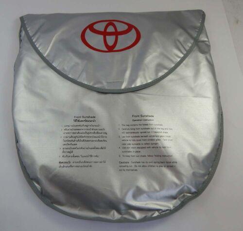 Genuine Windshield Sun shade Visor Silver Coat for Toyota Prius