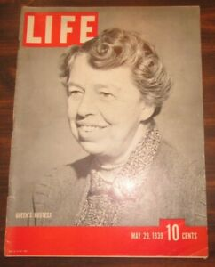 Life-Magazine-May-29-1939-Queen-039-s-Hostess