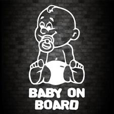 dummy baby on board car bike window STICKER DECAL VAN CAR COLOUR DUB JDM
