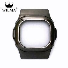 WILMA Chrome Black Metal Bezel FOR G-Shock DW-5600 GWX-5600 DW-5000 C-5600-2A