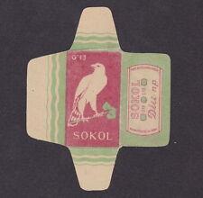 Etiquette de lame de rasoir  Tchécoslovaquie  BN18296 Aigle 3