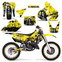 Suzuki Rm125 Graphics Kit Dirt Bike Decals Sticker Wrap Rm 125 99-00 Reap Yellow
