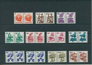 Germany-Berlin-1971-1973-Mi-402-411-453-Mint-MNH-Pairs-complete
