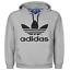 Da-Uomo-Adidas-Originale-Trifoglio-Felpa-con-Cappuccio-in-Pile-girocollo-Uomo-Felpa-Manica-Lunga