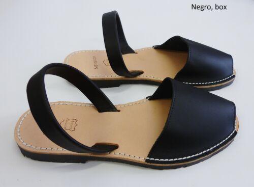 abarcas varios colores tallas desde 20 hasta 44,sandalias Avarcas menorquinas