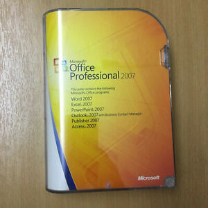 Microsoft Office Professional 2007 Retail Edition