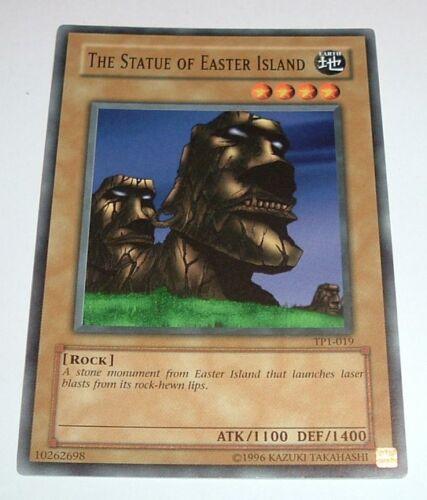Yugioh The Statue of Easter Island TP1-019 Mint Tournament Promo Season 1