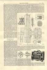 1894 volante Dínamo Alternador Transformador Patin