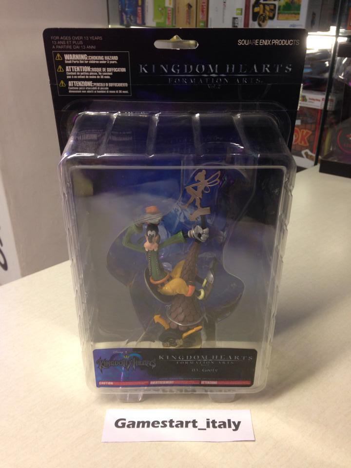 ACTION FIGURE KINGDOM HEARTS VOL. 2 GOOFY NEW VERY RARE