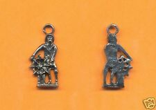 100 wholesale lead free pewter horse charms 1033