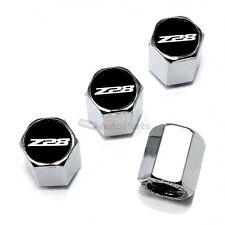 (4) Chevy Camaro Z28 Logo Chrome ABS Tire/Wheel Car Air Stem Valve CAPS Covers