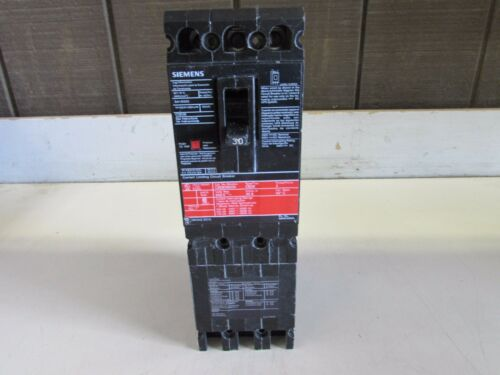 SIEMENS CED63B030 CIRCUIT BREAKER TYPE CED6 3P-30A-600V GOOD TAKEOUT MAKE OFFER!