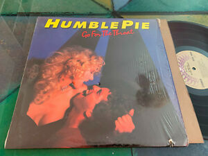 LP USA 1982  Humble Pie – Go For The Throat