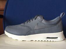 Womens Nike Air Max Thea Premium Cool Grey Sz 7.5 616723 008
