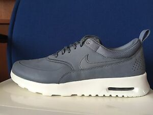 Details about Womens Nike AIR MAX THEA Premium PRM sz 11 COOL GREY Suede SAIL 616723 008