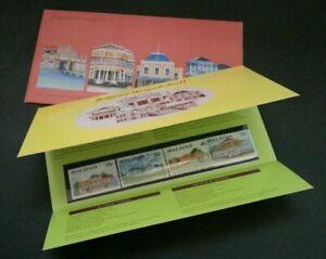 SJ-Malaysia-Historical-Building-II-Palace-1991-Royal-History-p-pack-MNH