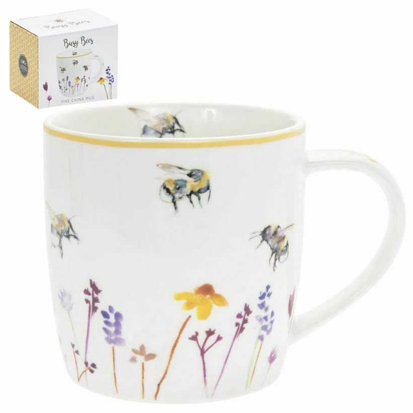 Busy Bee Leonardo Collection . Busy Bee Fine China Mug