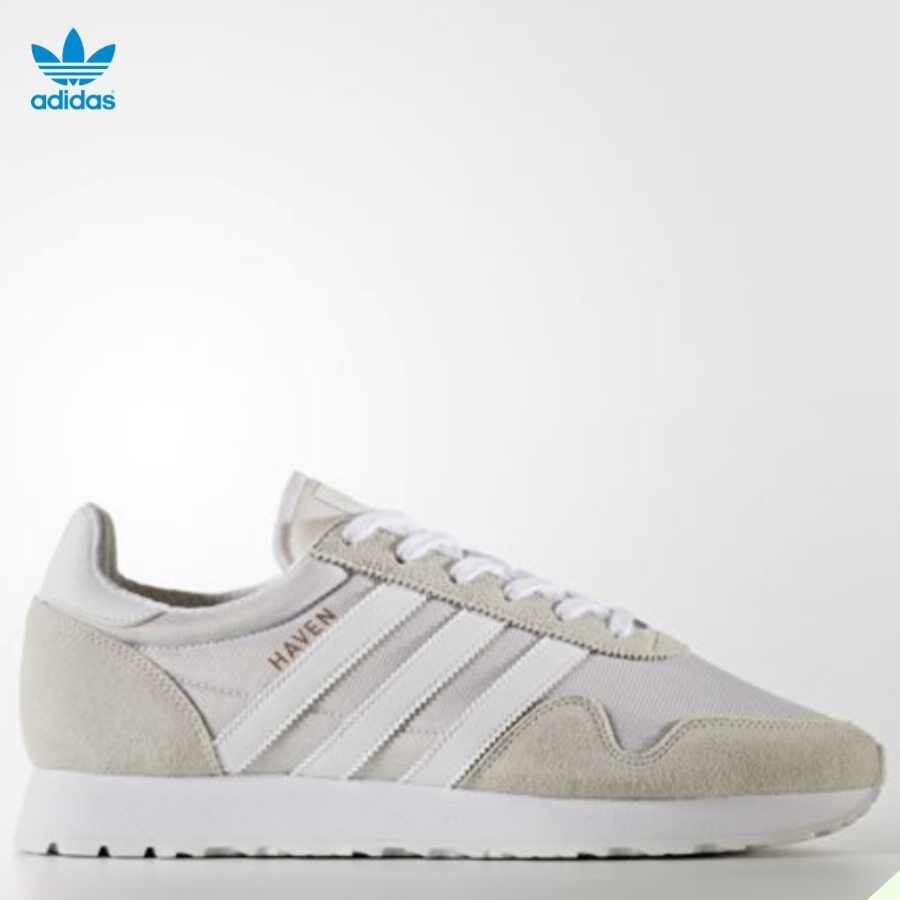 Adidas Haven Unisex Original Running Shoes White BY9718 Size 4-11 Limited