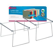 Hanging File Folder Frame Steel Letter Size 2pk 64872