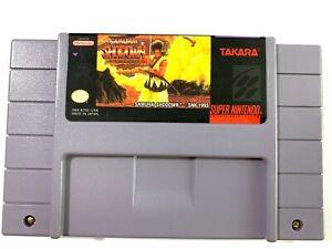 Samurai-Shodown-Showdown-SUPER-NINTENDO-SNES-Game-Tested-Working-Authentic