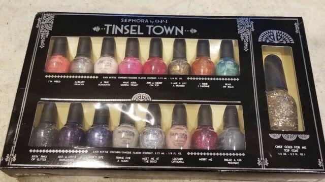 Sephora By Opi Tinsel Town Collector S Nail Polish Set