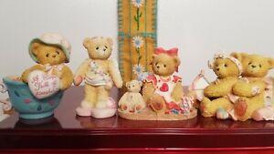 LOT Cherished Teddies Valentine's Madeline 135593 Candy 864323 103640 103594 A1